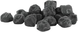 Dekosteine schwarz